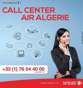 Air alg rie lance son nouveau call center en france for Air algerie reservation vol interieur
